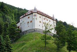 The old Castle Lengberg in East Tyrol, Austria