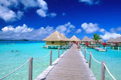 Bora Bora Beaches, Tahiti