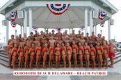 Beach Patrol in Rehoboth beach