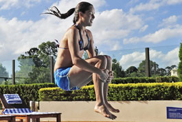 Ana Ivanovic pool photos