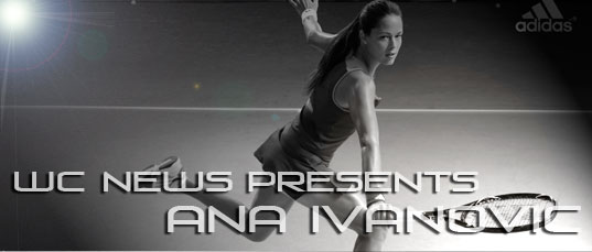Ana Ivanovic for Adidas comercial