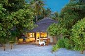 Angsana Velavaru Resort beach front villa