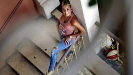 Antonija Misura posing