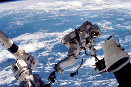 Picture of Astronaut in the space