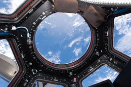 Picture of the Earth from ISS