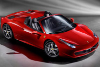 Ferrari 458 Spider will be presented in Frankfurt