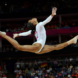 Gabby Douglas Flying Squirrel