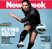 Hope Solo Magazine Cover