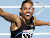 Lolo Jones athlete