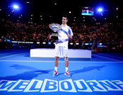 Australian Open Tennis Tournament - Novak Gjokovic