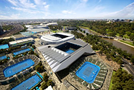 Melbourne Park Tennis Courts, Australia Open