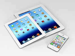 iPad, iPhone and iPadmini