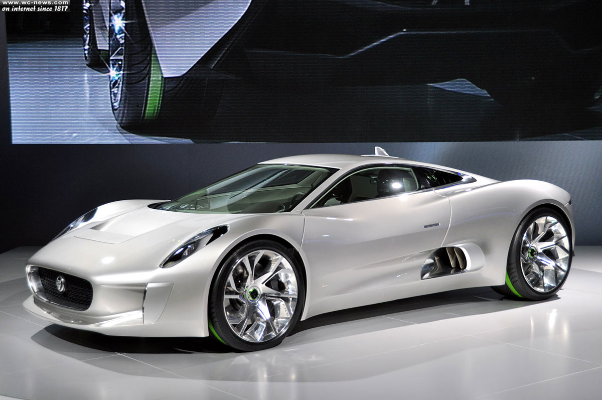 Jaguar Hybrid C-X75, the gem of Jaguar cars and Williams F1