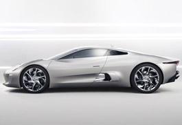 Jaguar Hybrid C-X75 Concept Supercar