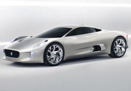 Jaguar Hybrid C-X75 Pictures