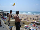 biarritz beach photo