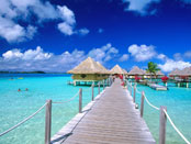 Island of Bora Bora, French Polynesia