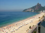 Ipanema beach, Brazil