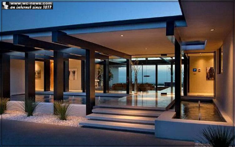 vera wangs house exterior