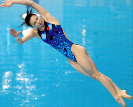 Wu Minxia Diving