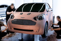 Aston Martin Cygnet or how to design a small car for just 10 seconds!