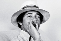 Barry Obama from the photo album of the President Obama