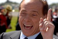 Silvio Berlusconi – I'm not a saint but you already know that!