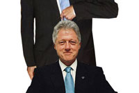 Institute for cloning on the way to make clone of Bill Clinton!
