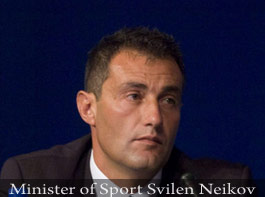 Bulgarian minister of sport
