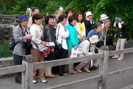 Japanese tourists