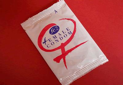 Female condom FC2