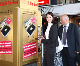 Vending Machines for Gold