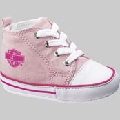 Harley Davidson Baby Pink Sneakers