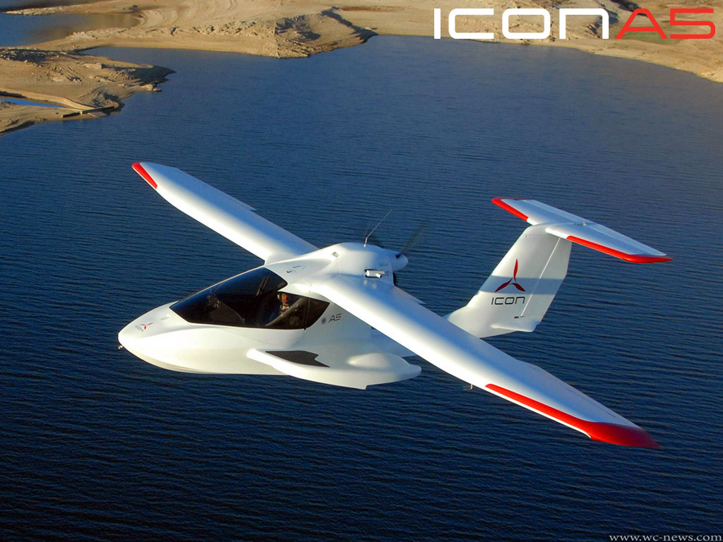 The Aircraft Icon A5 Science Fiction Into Reality Wc