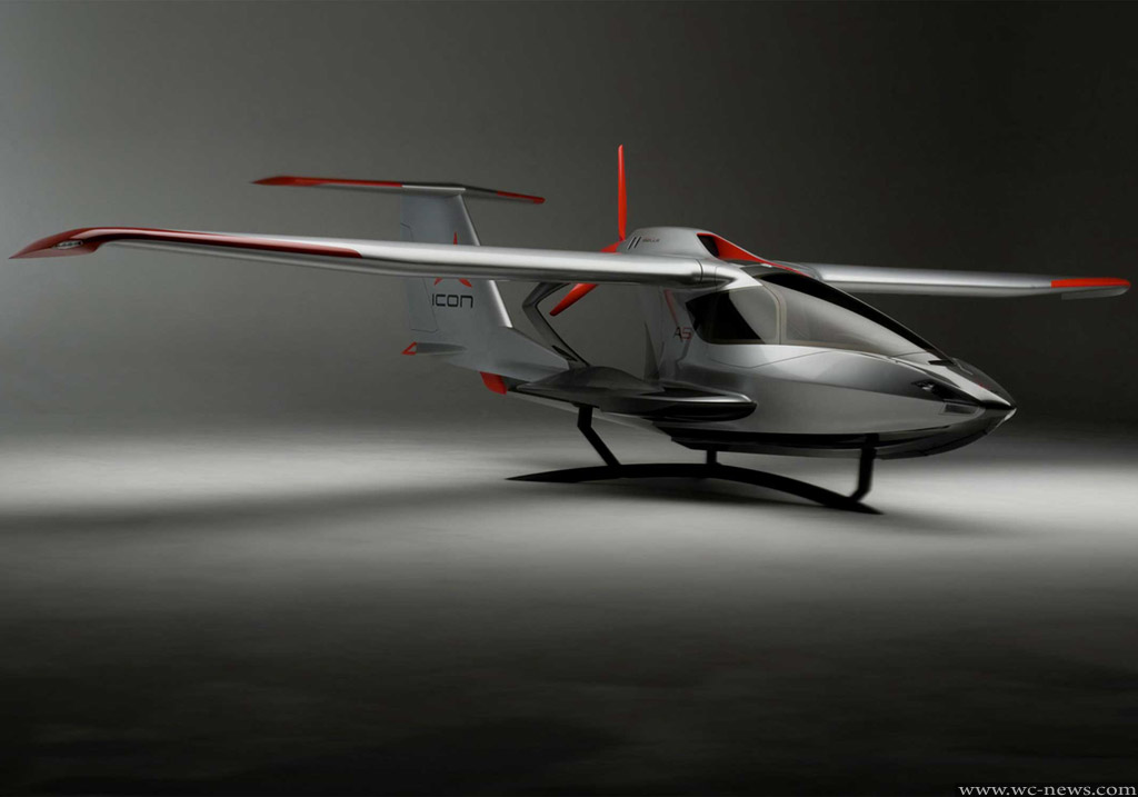 Car Brands Starting With F >> The aircraft Icon A5 – Science fiction into reality | WC News - World Entertainment News
