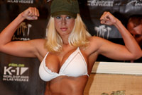 LaTasha Marzolla playboy model and kickboxer