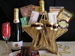 Organic Star gift basket