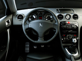 Interior of Peugeot 308 RC Z