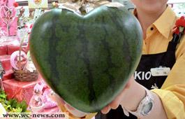 Heart watermelon