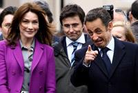 President Nikola Sarkozy and Carla Bruni