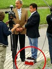 Sarkozy and Bush