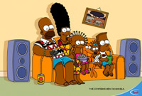 The Simpsons are going to Africa