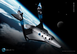 Virgin Galactic SpaceShip TwoFeather