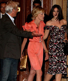 Richard Gere, Monica Bellucci, Sharon Stone
