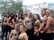British babes posing