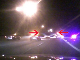 UFOs transported through Dallas I-20 Highway