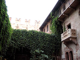 Juliet House in Verona