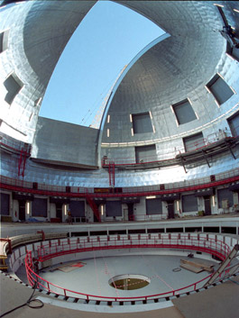 Inside look in the Great Canary Telescope