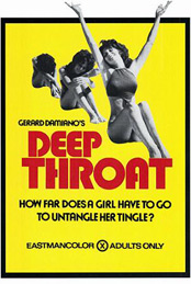Movie poster for the film Deep Throat