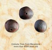 globular flute macedonia